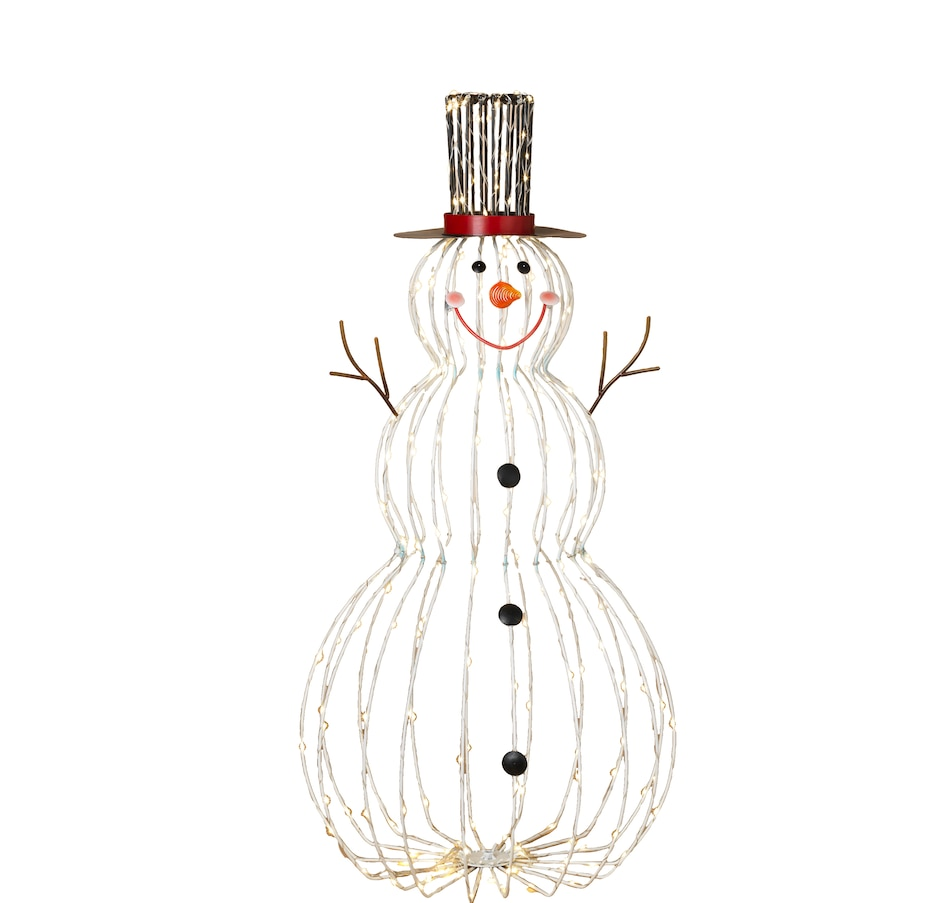 """Image 555495.jpg , Product 555-495 / Price $79.99 , Holiday Memories 33"""" Collapsible Lighted Outdoor Snowman from Holiday Memories on TSC.ca's Home & Garden department"""