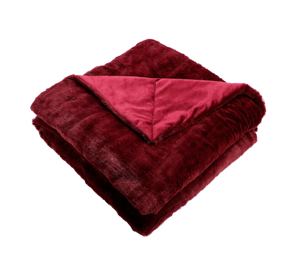 Image 556721_BDMNK.jpg , Product 556-721 / Price $59.99 , Guillaume Luxe Extra-Large Faux-Fur Throw from Guillaume on TSC.ca's Home & Garden department