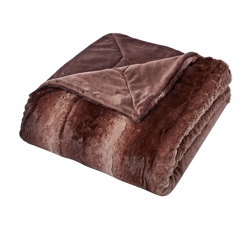 Image 556721_BRNCH.jpg , Product 556-721 / Price $130.00 , Guillaume Luxe Faux-Fur Extra-Large Throw from Guillaume on TSC.ca's Home & Garden department