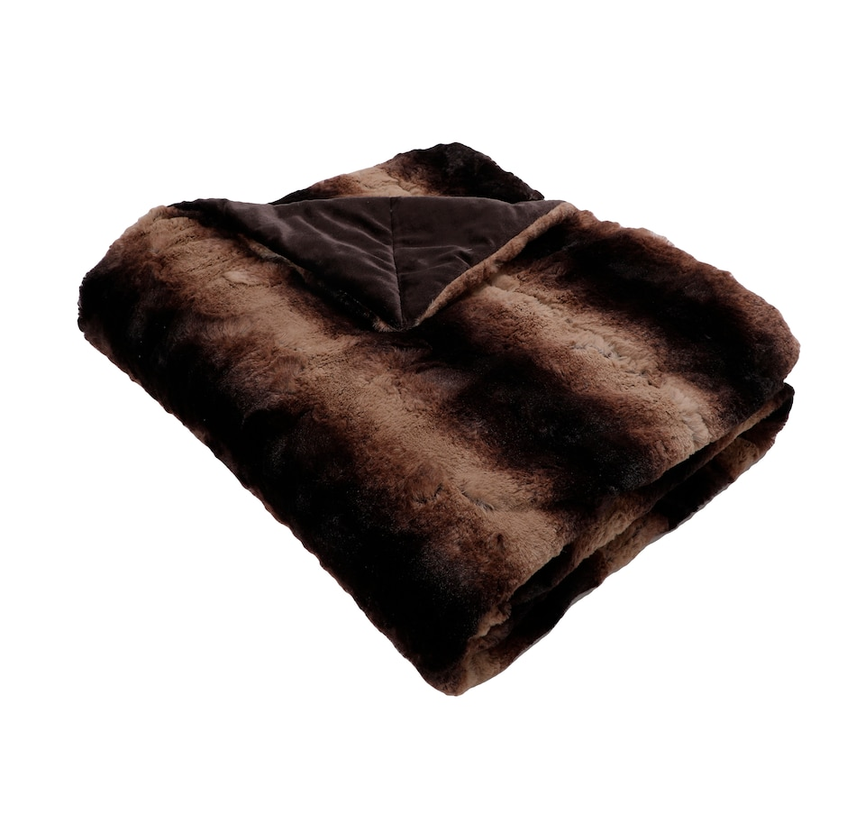 Image 556721_SBMK.jpg , Product 556-721 / Price $130.00 , Guillaume Luxe Extra-Large Faux-Fur Throw from Guillaume Home on TSC.ca's Home & Garden department