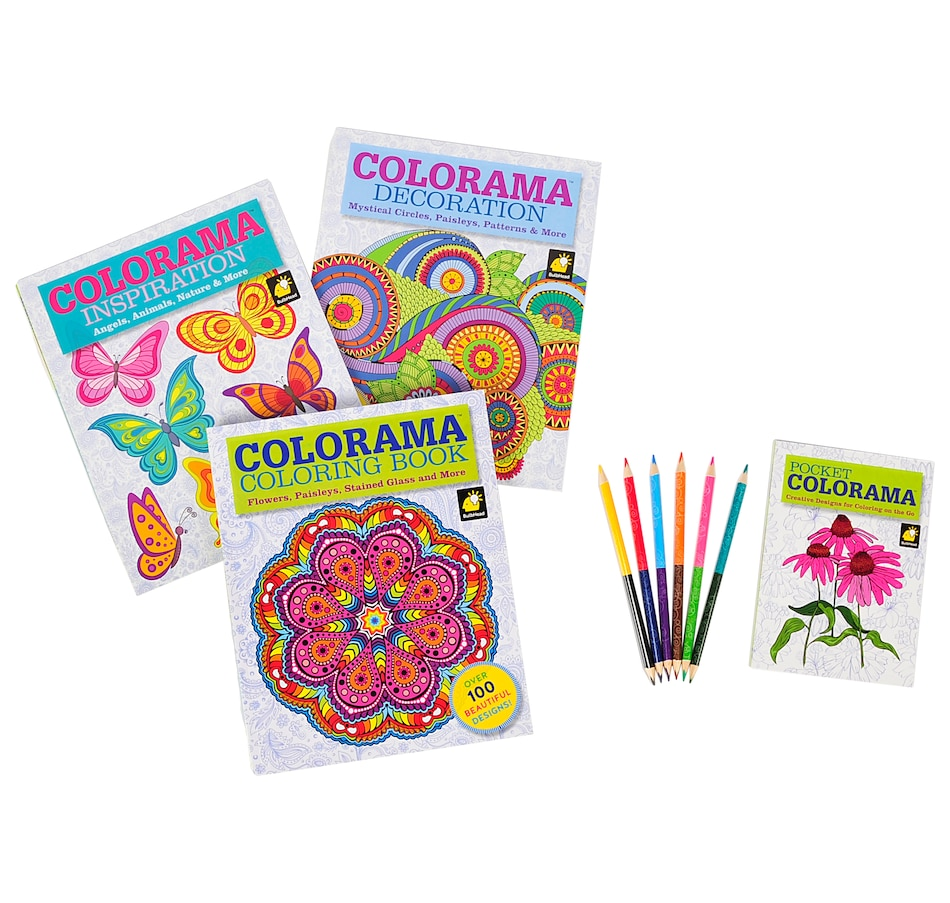 Image 557585 Product 557 585 Price 3195 Colorama Colouring Book