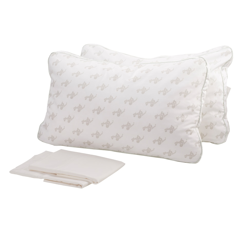 Image 559826_FIRM.jpg , Product 559-826 / Price $180.00 , MyPillow 2-Pack Giza 88 Pillows with Bonus Giza 88 Cotton Pillow Cases from My Pillow on TSC.ca's Home & Garden department