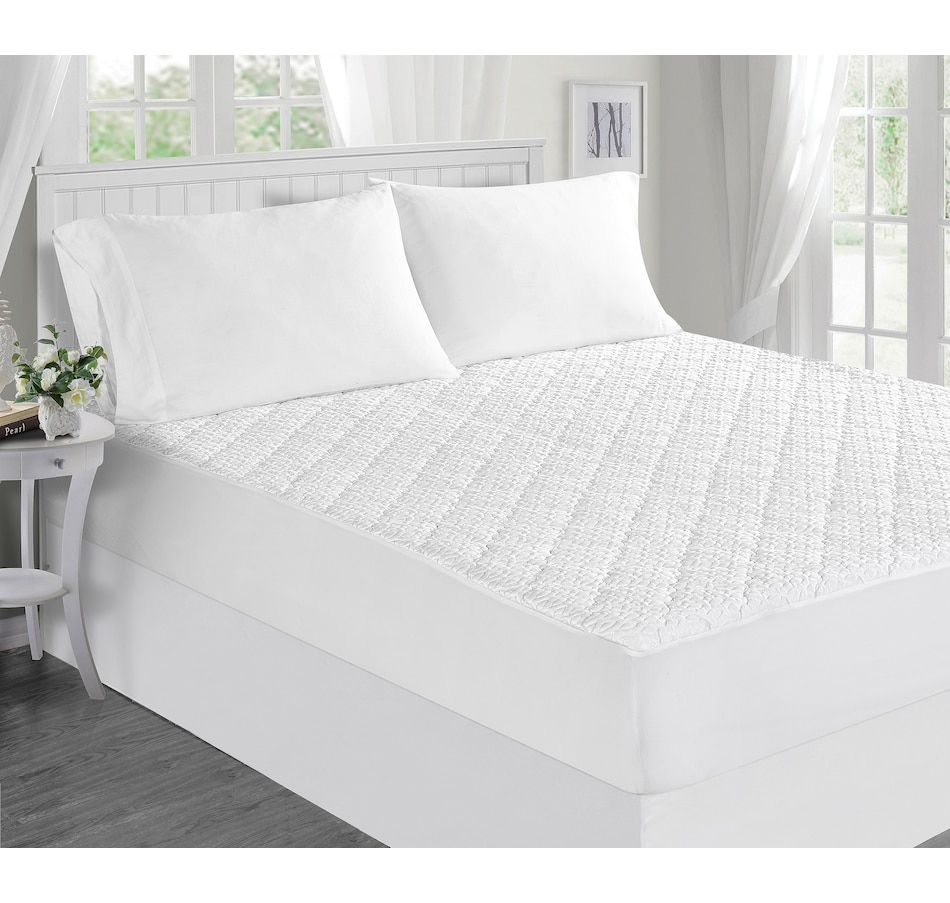 Image 559951.jpg , Product 559-951 / Price $50.00 , HomeSuite Ice Cool Waterproof Mattress Pad/Protector from HomeSuite Collection on TSC.ca's Home & Garden department