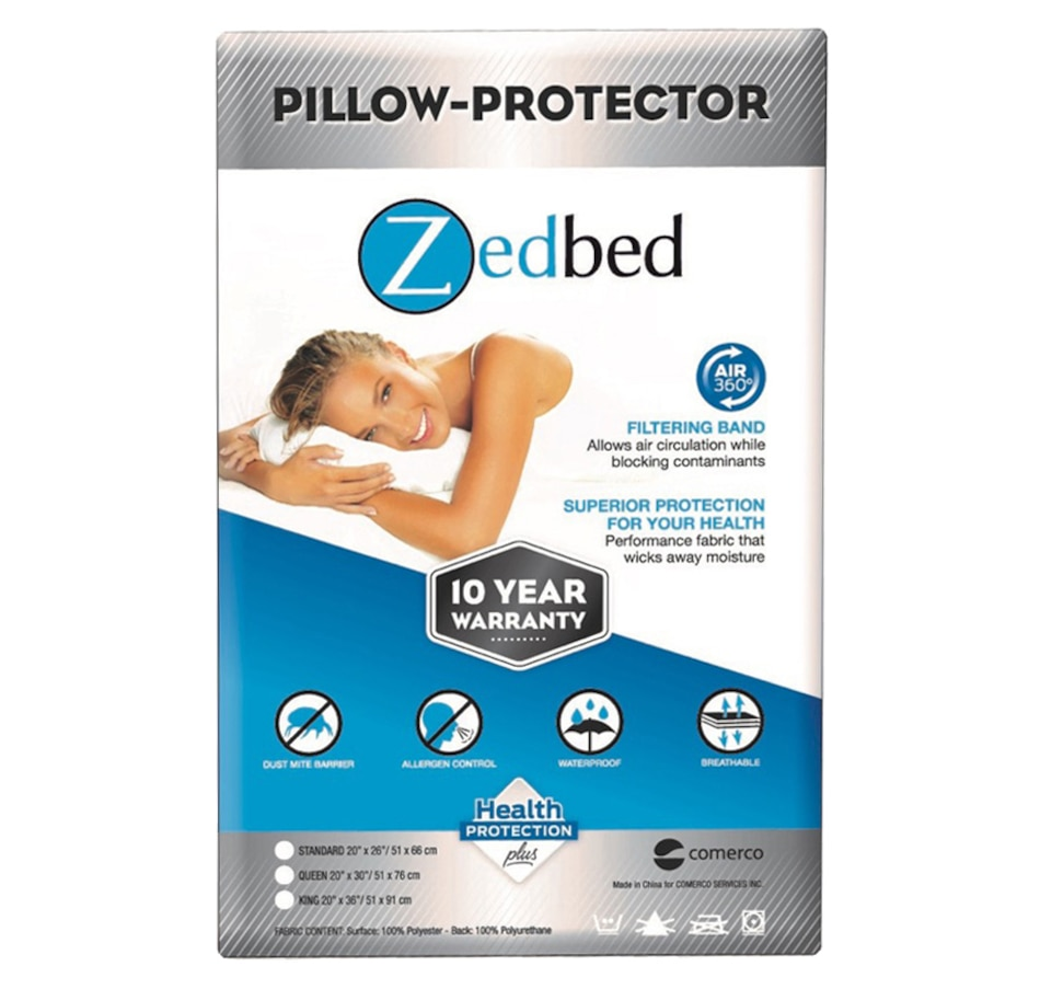 Image 560431.jpg , Product 560-431 / Price $38.00 - $42.00 , Zedbed Pillow Protector from Zedbed on TSC.ca's Home & Garden department