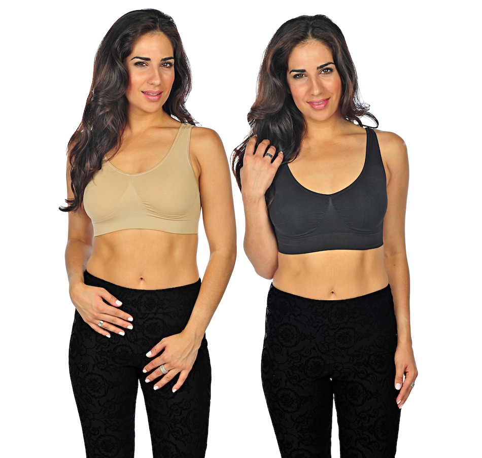 Online Shopping For Canadians Genie Bra Removable Pads 3 Pcs Summer
