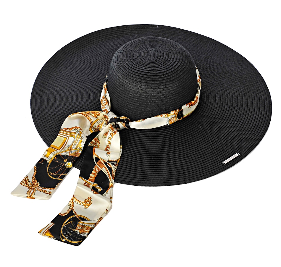 Image 591545_BLK.jpg , Product 591-545 / Price $12.33 , Jeanne Beker Just Fab Hat with Interchangeable Scarf (3-Pack) from Jeanne Beker Fashion on TSC.ca's Fashion department