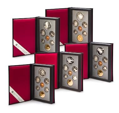 Silver Dollar Prestige Proof Sets, 1991–1995