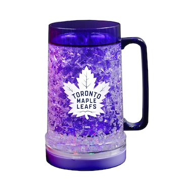 The Sports Vault NHL Licensed Toronto Maple Leafs 16 OZ Light-up Freezer Mug