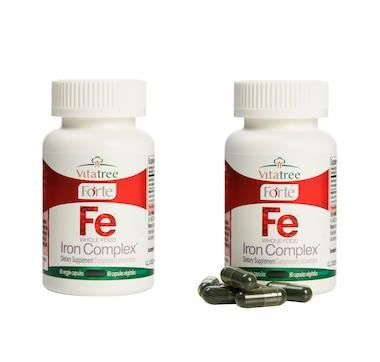 VitaTree Forte Whole Food Iron Complex (60-Day Supply)