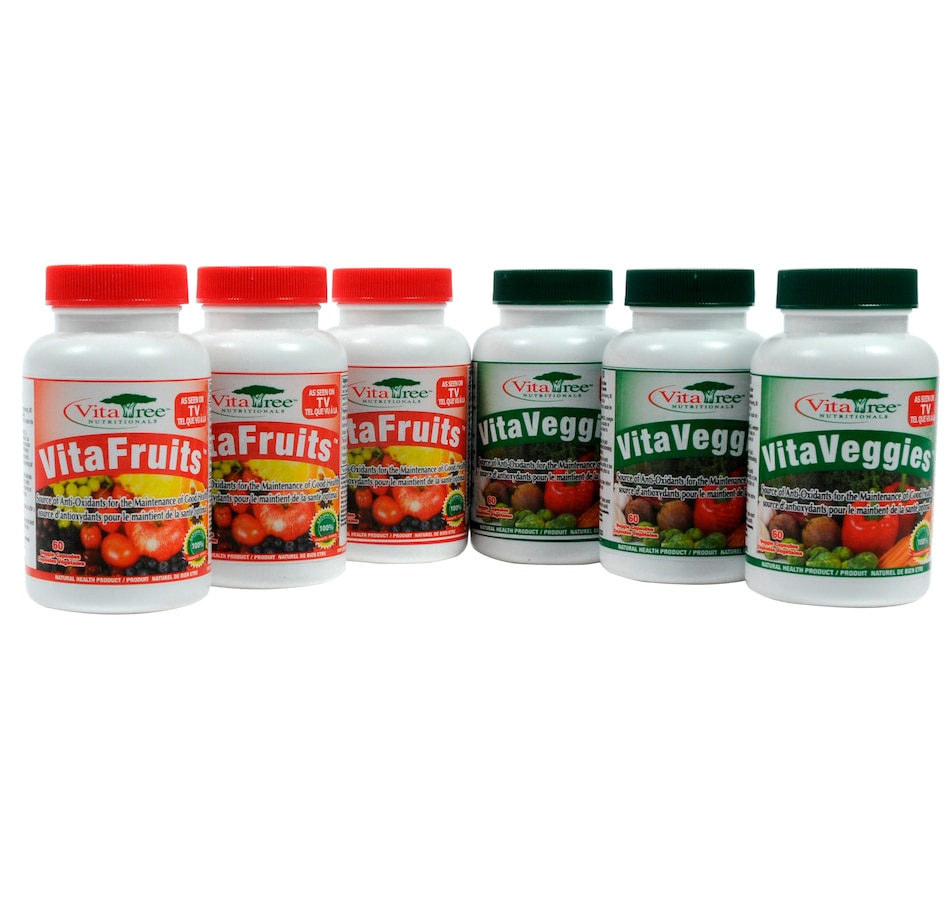 Image 603666.jpg , Product 603-666 / Price $69.25 - $187.20 , VitaTree VitaFruits and VitaVeggies - 90-Day Supply from VitaTree Nutritionals on TSC.ca's Health & Fitness department