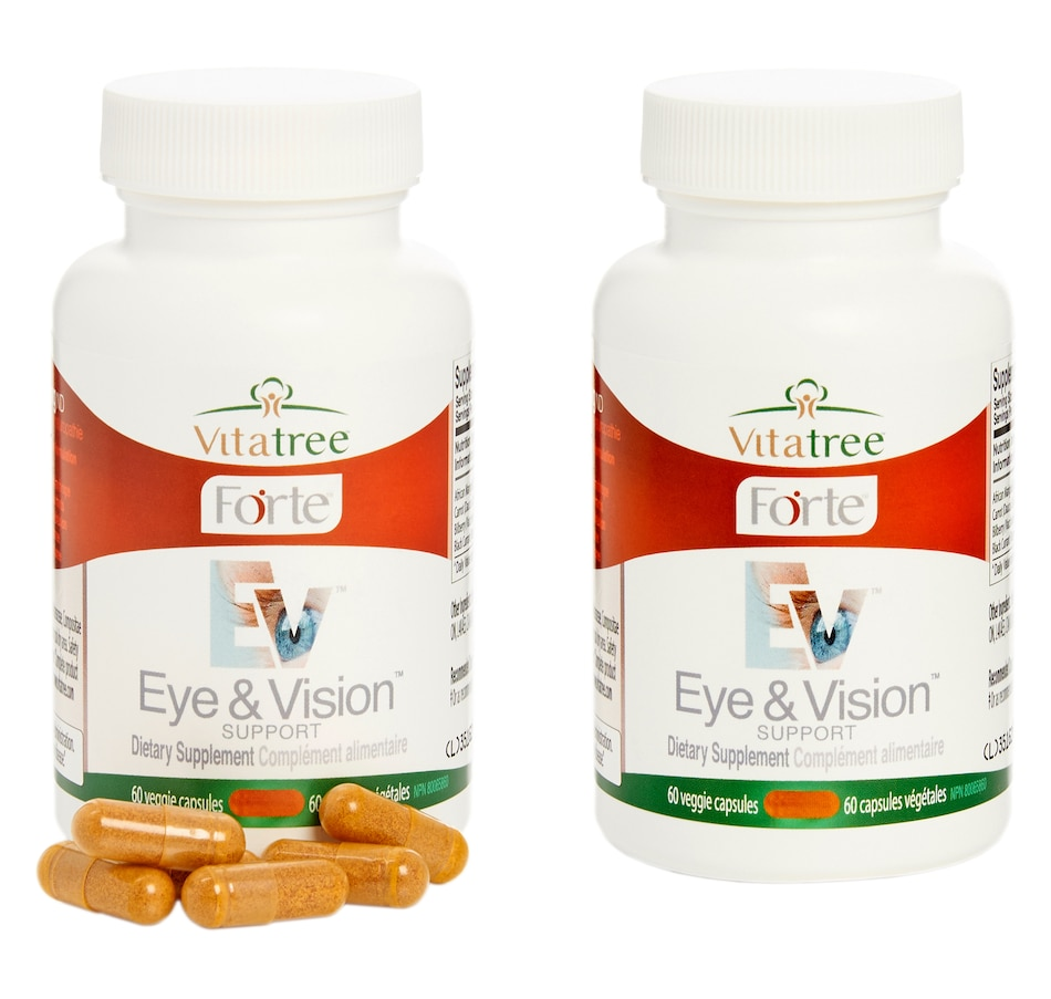 Image 603755.jpg , Product 603-755 / Price $50.99 - $96.99 , Vitatree 60-Day Eye and Vision Support from VitaTree Nutritionals on TSC.ca's Fitness & Recreation department