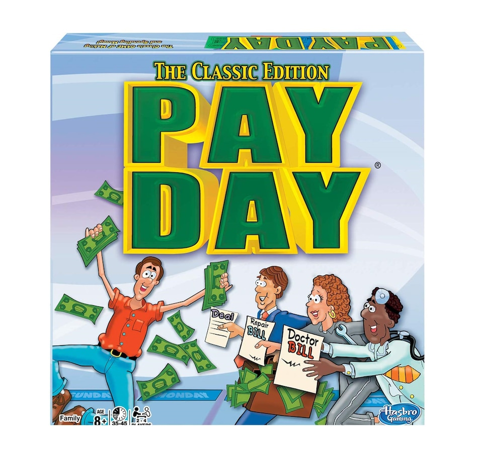 Image 603995.jpg , Product 603-995 / Price $29.99 , Winning Moves Games - PayDay Board Game Classic Edition  on TSC.ca's Coins & Hobbies department