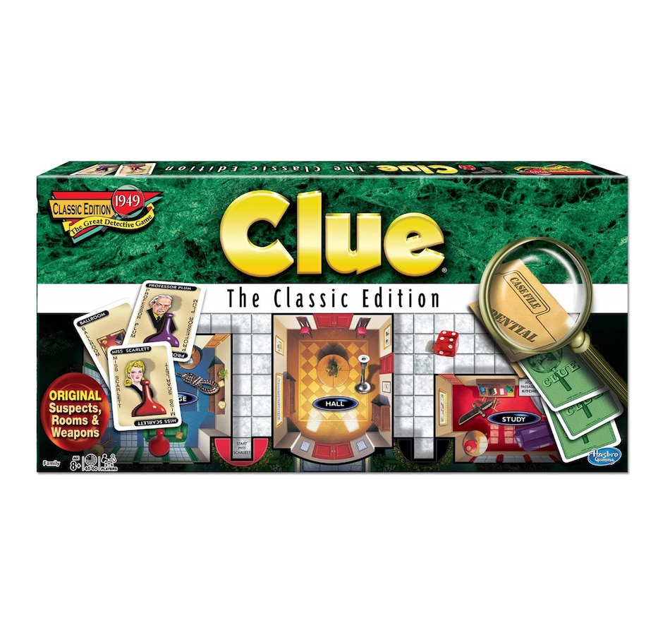 Image 603999.jpg , Product 603-999 / Price $39.99 , Winning Moves Games - Clue Classic Edition  on TSC.ca's Coins & Hobbies department