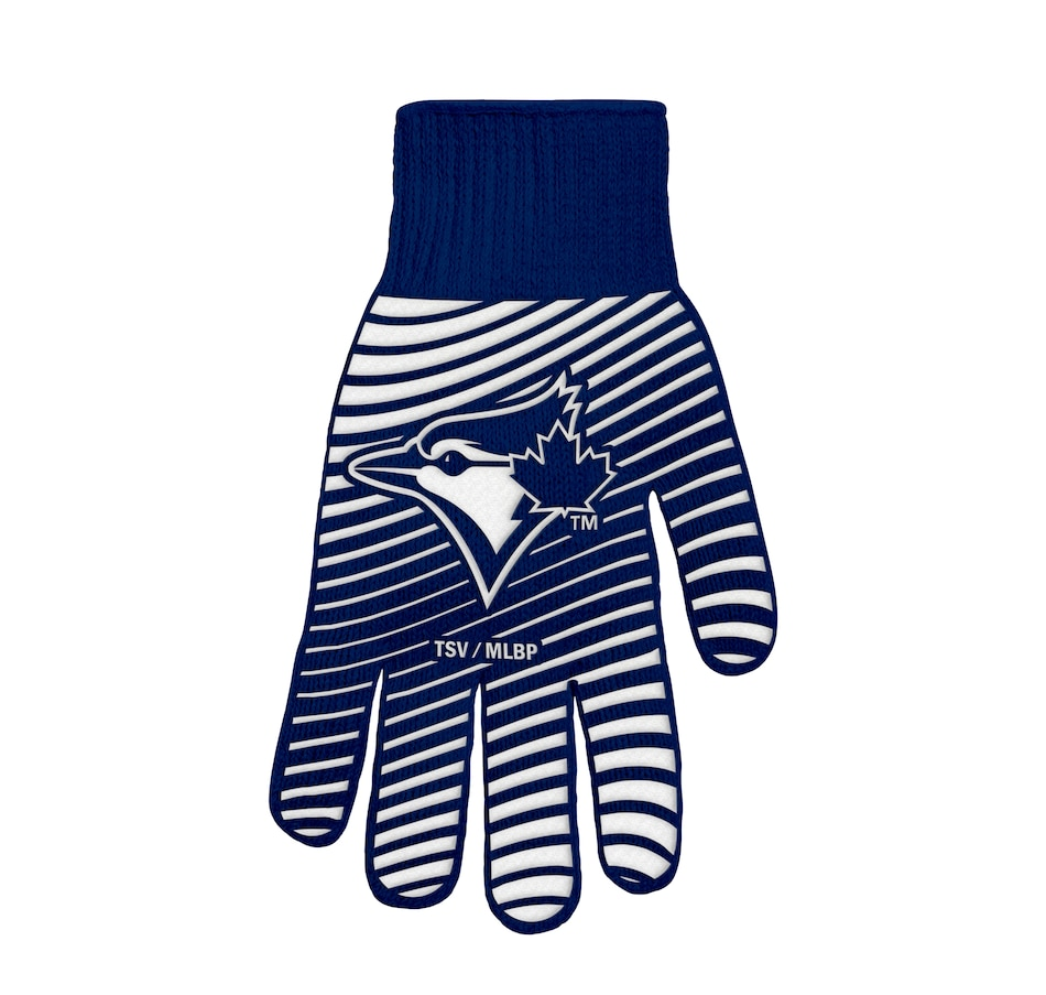 Image 607650.jpg , Product 607-650 / Price $19.99 , The Sports Vault MLB Licensed Toronto Blue Jays BBQ Glove  on TSC.ca's Sports department