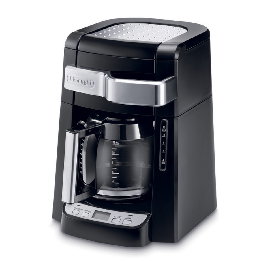 Image 608414.jpg , Product 608-414 / Price $74.99 , DeLonghi 12 Cup Drip Coffee Maker