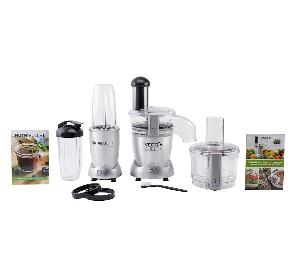 Image 609502.jpg , Product 609-502 / Price $149.99 , NutriBullet 10-Piece Prime Set with Free Veggie Bullet 3-in-1 Machine from NutriBullet on TSC.ca's Kitchen department
