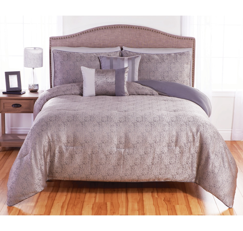 Image 609507.jpg , Product 609-507 / Price $74.99 - $85.99 , Beco Home Revan Grey Duvet Cover Set from Beco on TSC.ca's Home & Garden department