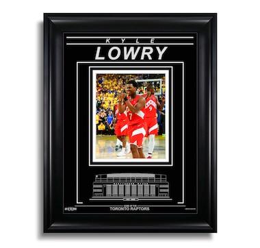 Kyle Lowry Toronto Raptors Engraved Framed Photo - 2019 NBA Finals