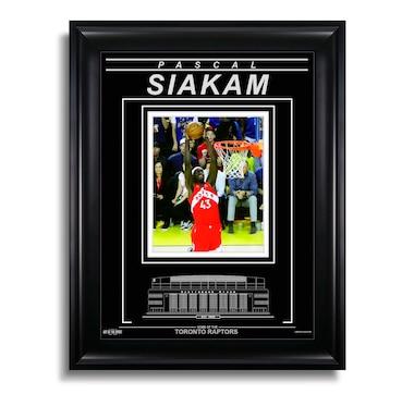 Pascal Siakam Toronto Raptors Engraved Framed Photo - 2019 NBA Finals