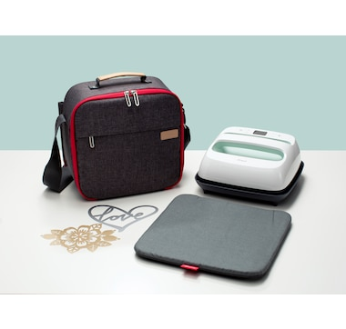 Cricut EasyPress 2 9 x 9 Mint with Carry Tote Bundle