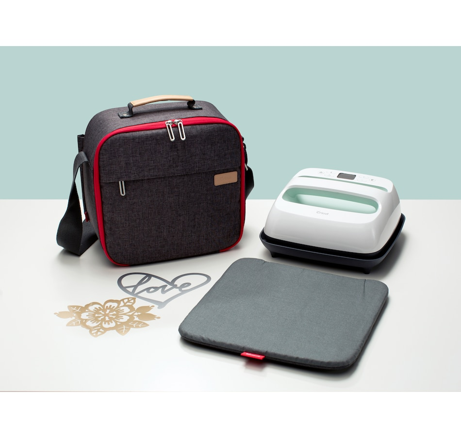 Image 609849.jpg , Product 609-849 / Price $269.99 , Cricut EasyPress 2 9 x 9 Mint with Carry Tote Bundle from Anna Griffin on TSC.ca's Home & Garden department