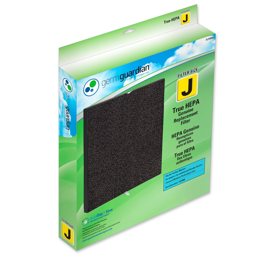 Image 609872.jpg , Product 609-872 / Price $88.95 , GermGuardian FLT5900 Genuine True HEPA Filter for AC5900WCA Air Purifier from Guardian Technologies on TSC.ca's Home & Garden department