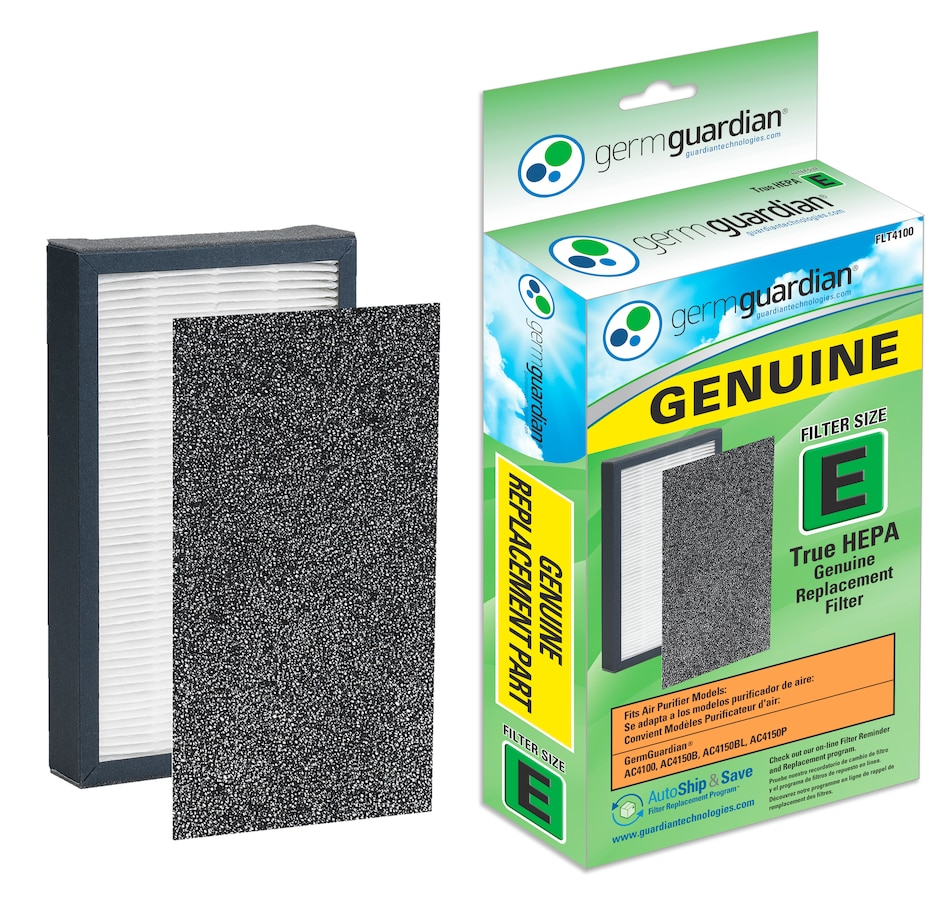 Image 609874.jpg , Product 609-874 / Price $22.95 , GermGuardian FLT4100 Genuine Hepa Replacement Filter E for AC4100CA Air Purifier from Guardian Technologies on TSC.ca's Home & Garden department