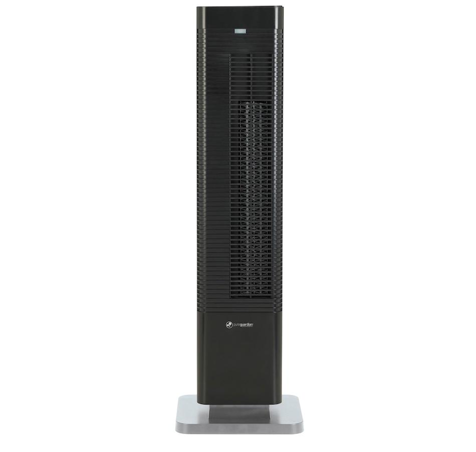 """Image 609884.jpg , Product 609-884 / Price $199.95 , PureGuardian HTR410B Oscillating 27"""" Whole Room Tower Heater and Fan with Remote Control from Guardian Technologies on TSC.ca's Home & Garden department"""