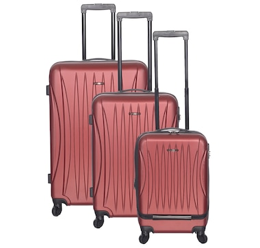 Club Rochelier Traveller 3 Piece Hard-Side Luggage Set