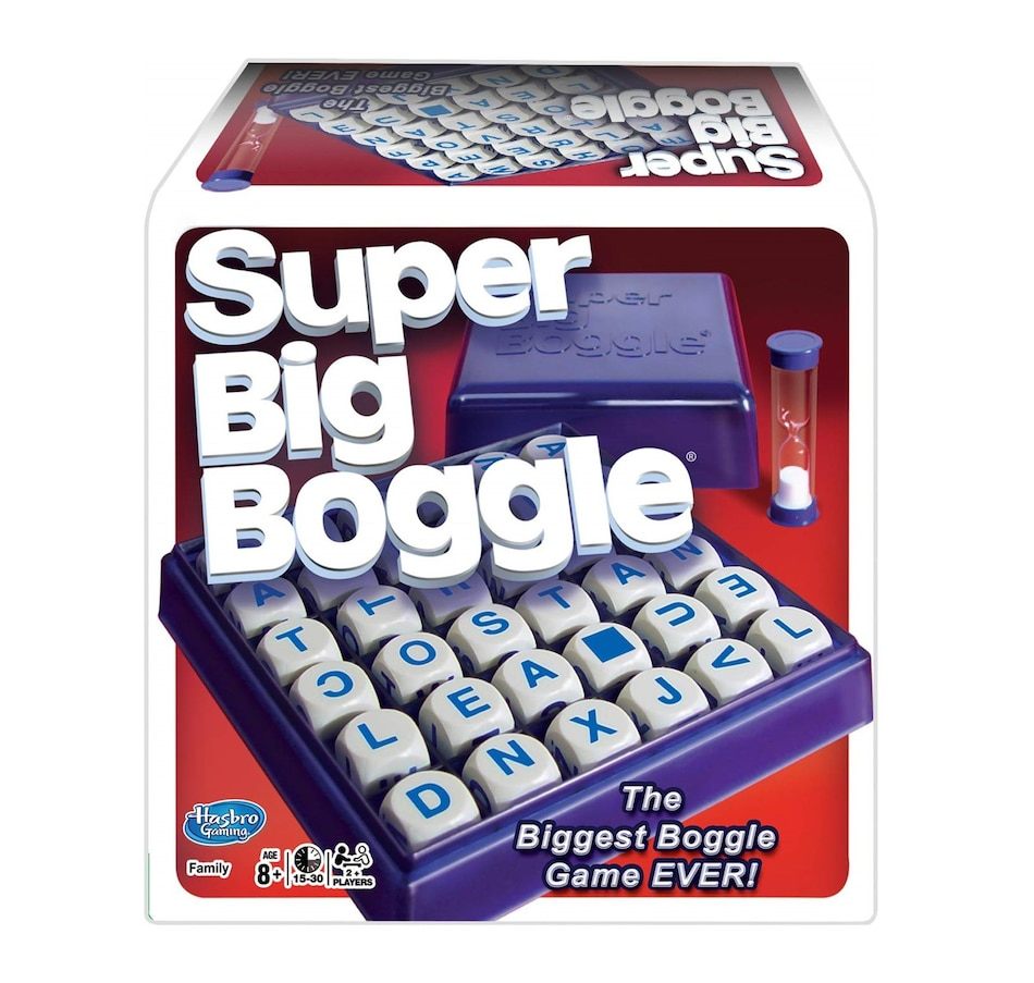 Image 618348.jpg , Product 618-348 / Price $39.99 , Winning Moves Games - Super Big Boggle, the Biggest Boggle Game Ever  on TSC.ca's Coins & Hobbies department