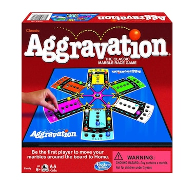 Winning Moves Games Aggravation Classic Edition