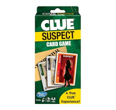Winning Moves Games Clue Suspect Card Game