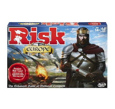 Winning Moves Games Risk Europe Board Game