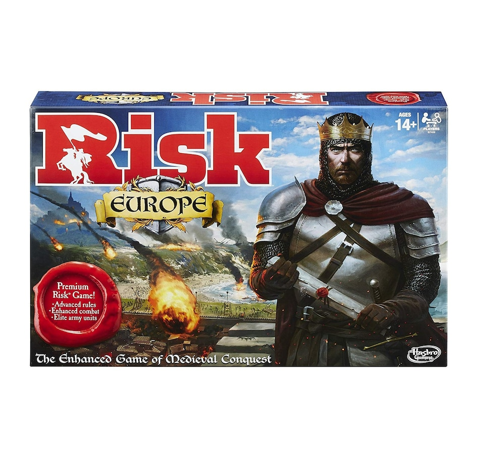Image 618369.jpg , Product 618-369 / Price $59.99 , Winning Moves Games Risk Europe Board Game  on TSC.ca's Coins & Hobbies department