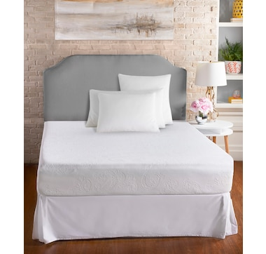 """Health-o-pedic 10"""" Gel Memory Foam Mattress with Special Support Layers"""