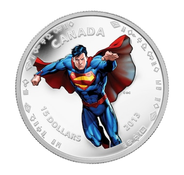 $15 Fine Silver Coin 1/2 oz - Modern-Day Superman