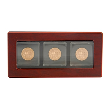 Canada's $10 Gold Coins 1912-1914 - Complete Uncirculated Three-Piece Set