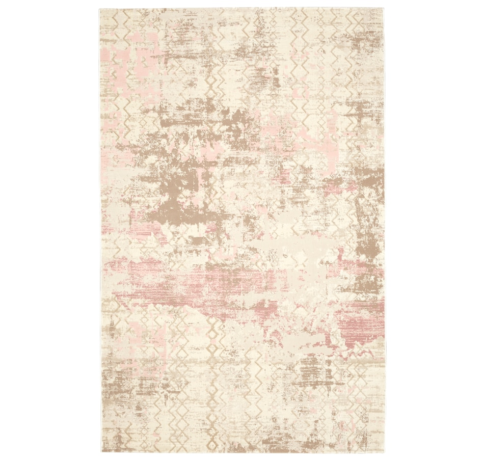 Image 618790_PNK.jpg , Product 618-790 / Price $142.99 - $284.99 , Viana Rug Aria Collection Abstract from Viana Inc on TSC.ca's Home & Garden department