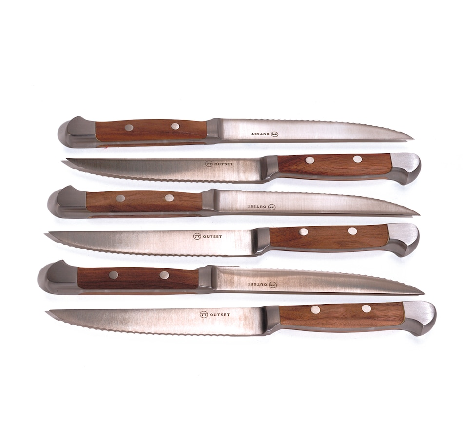 Image 618829.jpg , Product 618-829 / Price $51.99 , Outset Curtis Lloyd Steak Knives (Set of 6) from Outset Grillware on TSC.ca's Kitchen department