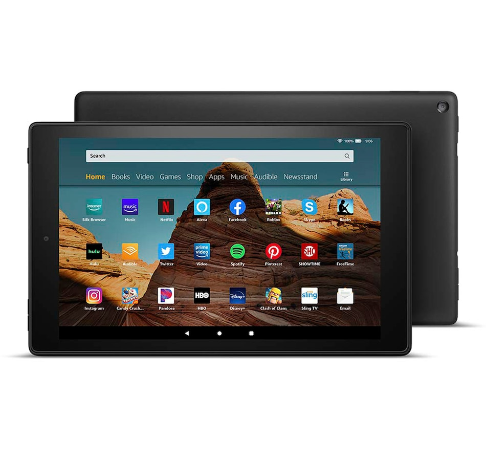 "Image 618845_BLK.jpg , Product 618-845 / Price $199.99 , Amazon Fire HD 10.1"" Tablet 32GB from Amazon on TSC.ca's Electronics department"
