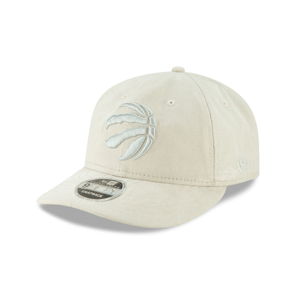 Image 618998.jpg , Product 618-998 / Price $44.99 , Men's Toronto Raptors NBA Spring Suede Retro Crown 9FIFTY Cap (Ivory)  on TSC.ca's Sports department