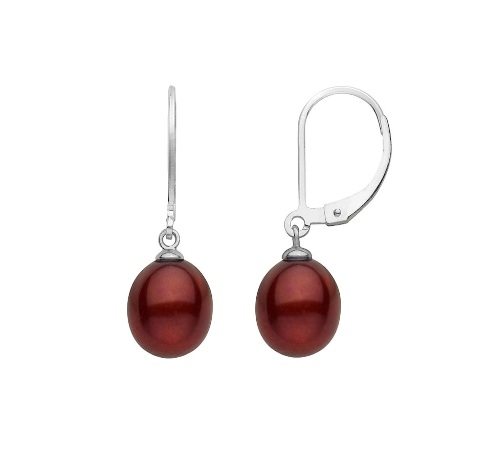 Image 619976_CHO.jpg , Product 619-976 / Price $26.99 , SUGOI Sterling Silver Freshwater Pearl Leverback Earrings  on TSC.ca's Jewellery department