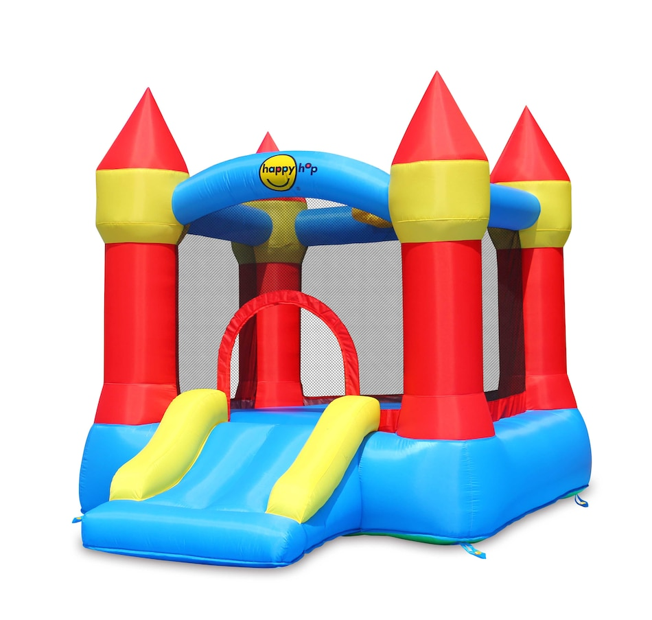 Image 620272.jpg , Product 620-272 / Price $449.99 , Happy Hop Castle Bouncer with Slide and Hoop from Happy Hop on TSC.ca's Home & Garden department
