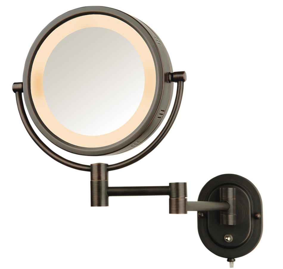 Buy Jerdon Halo Lighted Wall Mount Mirror Online Shopping For Canadians