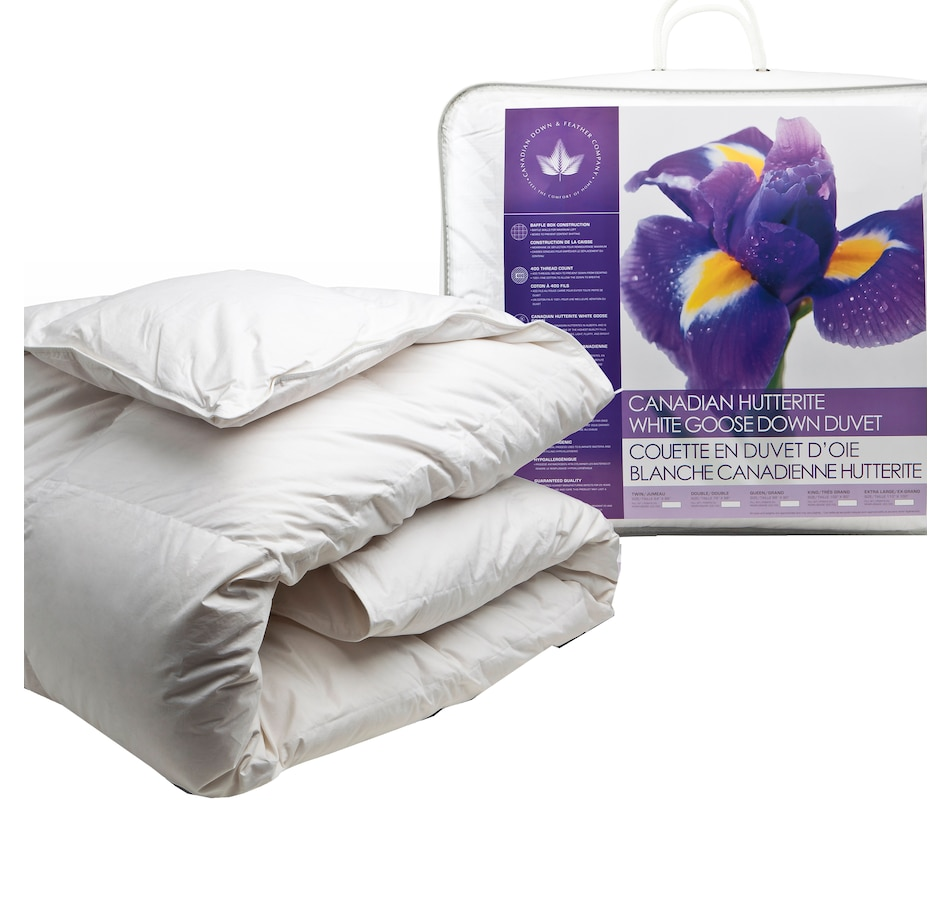 Image 625015.jpg , Product 625-015 / Price $450.00 - $875.00 , Canadian Down & Feather Company Hutterite Goose Down Duvet (Regular Weight) from Canadian Down & Feather on TSC.ca's Home & Garden department