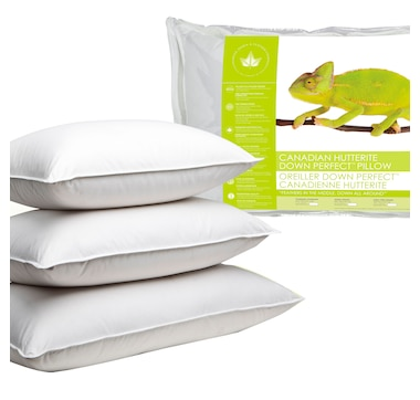 Canadian Down & Feather Company Hutterite Down Perfect Pillow (Medium)