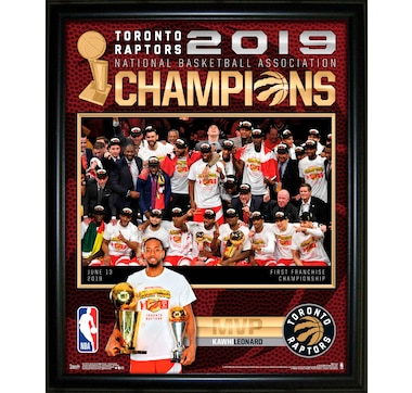 "2019 Toronto Raptors 16x20"" Championship Framed Photo Collage"