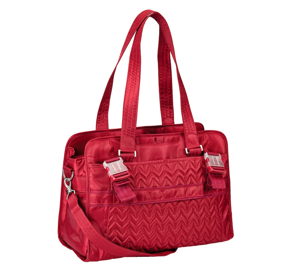Image 625219_CBRED.jpg , Product 625-219 / Price $150.00 , Lug Caboose Diaper Bag from Lug on TSC.ca's Shoes & Handbags department