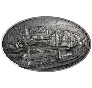 2019 $250 Fine Silver Coin 100th Anniversary of CN