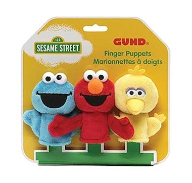 GUND Sesame Street Finger Puppets